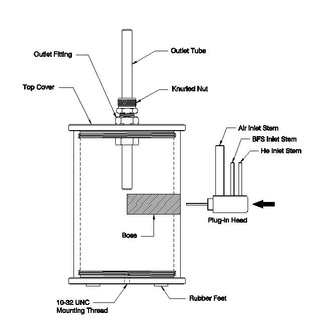 Plug-In Head   Mini-Vortex Filter